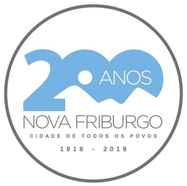 logo 200 anos de Nova Friburgo
