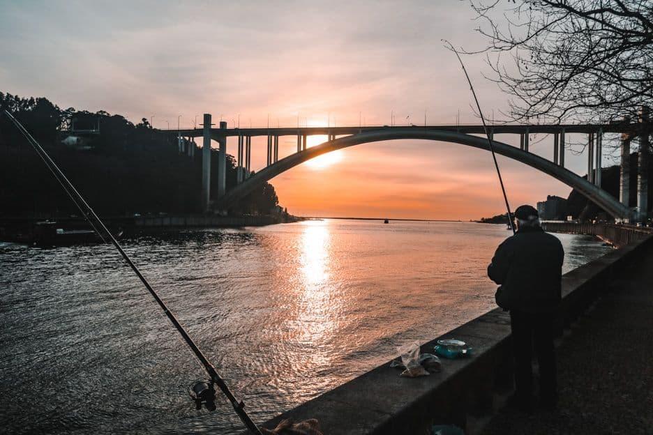 Foz do douro da Cidade do Porto