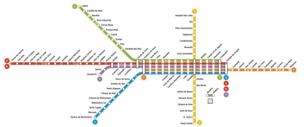 Metro do Porto Portugal
